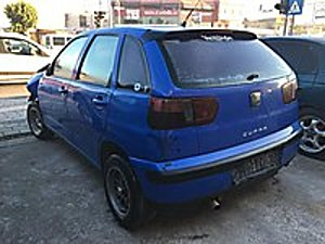 ZÜLFÜKAR DAN SEAT IBIZA 1.6 2000 MODEL MAVİ KLİMA Seat Ibiza