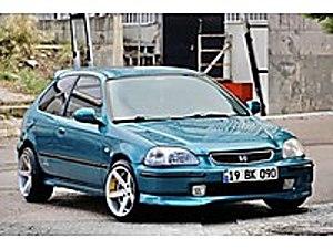 SAHİBİNDEN OTOMATİK VİTES ÖZEL RENK VOSSEN JANT 193 BİNDE  Honda Civic 1.4 1.4i