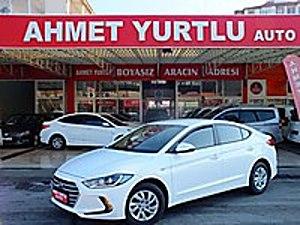 AHMET YURTLU AUTO dan 2018 ELENTRA 17.000KM BAKIM YENİ BOYASIZ Hyundai Elantra 1.6 D-CVVT Style