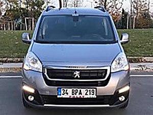2018 PARTNER TEPEE ACTİVE PLUS GENİŞ EKRANLI 15 DAKİKADA KREDİ Peugeot Partner 1.6 BlueHDi Active
