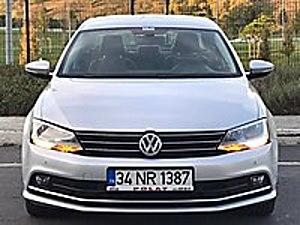 2015 VW JETTA COMFORTLİNE YENİ KASA OTOMOTİK FULLL 15 DK KREDİ Volkswagen Jetta 1.6 TDi Comfortline