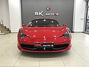 BK MOTORS  DAN 458 ITALIA KARBON AİRMATİC HATASIZ Ferrari 458 Italia