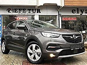 2018 GRANDLAND X 1.6D EXCELLENCE 500 KM HATASIZ TAKAS Opel Grandland X 1.6 D Excellence