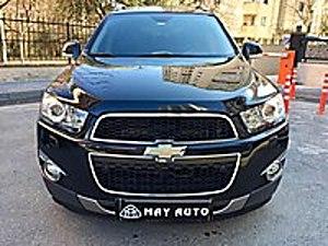 2012 CAPTİVA LTZ 163hp 7.Kişilik BOYASIZ HATASIZ MASRAFSIZ... Chevrolet Captiva 2.0 D LTZ