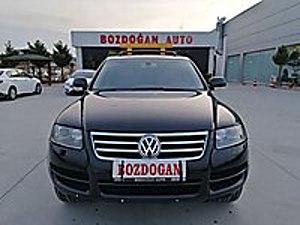 2006 MODEL TOUREG 2.5 TDİ EXCLUSİVE İÇİ BEJ DERİ SANRUF Volkswagen Touareg 2.5 TDI Exclusive