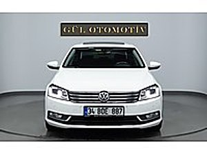 2014 PASSAT 1.6 TDİ EXCLUSİVE 4 KOLTUK ISITMA XENON-LED SANROOF Volkswagen Passat 1.6 TDi BlueMotion Exclusive