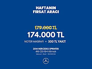 2014 SPRİNTER 416 CDI 19 1 KLİMALI