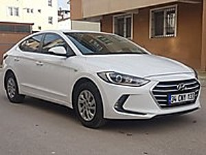 2018 MODEL HATASIZ TEMİZ BAKIMLI 1 6D-CVVT STYLE ELENTRA Hyundai Elantra 1.6 D-CVVT Style