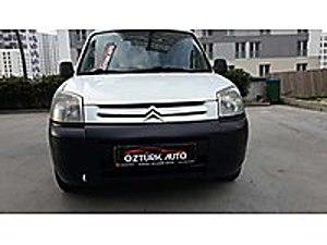 ÇOK TEMIZ 190 BİNDE ÇIFT SÜRGÜLÜ SIFIR MUANELİ Citroën Berlingo 1.9 D