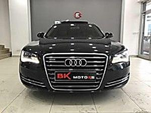 BK MOTORs 2013 AUDİ A8 3.0 TDİ  V6 Quattro LONG 250 Hp TAM FULL Audi A8 3.0 TDI Quattro Long