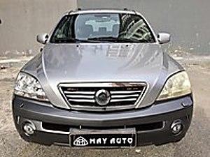 Kia Sorento 2004 Model 4x4 Sunroof Dvd TV Gerigörüş Deri...... Kia Sorento 2.5 CRDi EX
