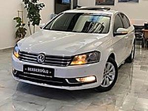 BERBEROĞLU OTOMOTİV DEN 2013 VW PASSAT BOYASIZ SUNROOF LU Volkswagen Passat 1.6 TDi BlueMotion Comfortline