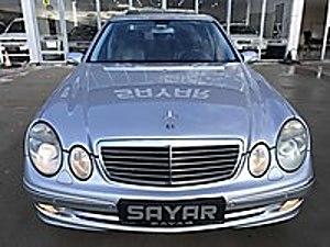 SAYAR  2004 MERCEDES E200 KOMP. AVANTGARDE 200.000 KM DE BOYASIZ Mercedes - Benz E Serisi E 200 Komp. Avantgarde