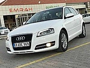 SIFIR ARAÇ TADINDA 97.000 KM YETKİLİ SERVİS BAKIMLI CAM TAVAN Audi A3 A3 Sportback 1.6 TDI Attraction