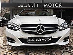 ist.ELİT MOTOR dan 2014 E180 ELİTE PANORAMIC CAM TAVAN-ISITMA Mercedes - Benz E Serisi E 180 Elite