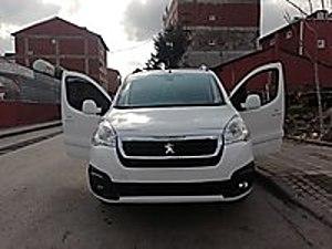 27 Binde Sıfır Ayarında Full Paket Partner Peugeot Partner 1.6 BlueHDi Allure