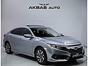 AKBAŞ AUTO DAN 2018 CİVİC 1.6İ-VTEC ECO ELEGANCE 35.000KM  Honda Civic 1.6i VTEC Eco Elegance