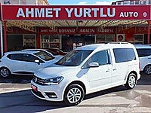 AHMET YURTLU AUTO 2017 VW CADDY 32.000 ETİKETLER DURUYOO BOYASIZ Volkswagen Caddy 2.0 TDI Comfortline