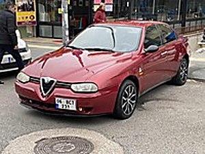 ERDOĞANLAR DAN - 1998 MODEL ALFA ROMEO 156 1.6 TS - BAKIMLI Alfa Romeo 156 1.6 TS