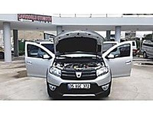 2013 MODEL HATASIZ BOYASIZ HASAR KAYITSIZ. 60 AY A KADAR KREDİ Dacia Sandero 1.5 dCi Stepway