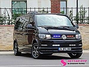 SEYYAH OTOdan 2018 Sıfır Transporter 150Hp Premium Vip Minibüs Volkswagen Transporter 2.0 TDI Camlı Van Comfortline