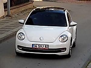 İLK SAHİBNDEN ORJİNAL VW NEW BEETLE 1.6 DİZEL OTOMATK CAM TAVALI Volkswagen Beetle 1.6 TDI Design