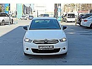 BİZ HERKESİ ARABA SAHİBİ YAPIYORUZ ANINDA KREDI   SENETLİ SATIŞ Citroën C-Elysée 1.6 HDi  Attraction