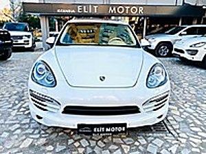 ist.ELİT MOTOR dan HATASIZ CAYENNE-SOĞUTMA.ISITMA.NAVİ.AİRMATİC Porsche Cayenne 3.0 Diesel