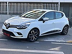 AUTO KIRMIZI DAN HATASIZ 2017 CLİO TOUCH DİZEL OTOMATİK Renault Clio 1.5 dCi Touch