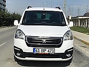 ÖZLEM OTO DAN 2017 MODEL PEUGEOT PARTNER 1 6 ALLURE 115 PS FULL Peugeot Partner 1.6 HDi Allure