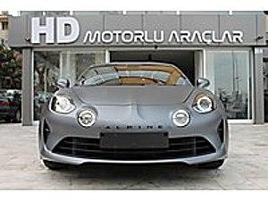 -HD MOTORLU ARAÇLAR-2020 MODEL ALPİNE A110S 300HP  MAT GRİ  A110 S