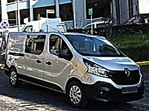 18.000 KM HATASIZ BOYASIZ 5 1 CİTY VAN UZUN YOL PAKETİ UZUN ŞASE Renault Trafic Multix 1.6 dCi Grand Confort Trafic Multix 1.6 dCi Grand Confort