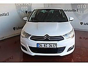 2013MODEL CİTROEN C4 1.6e-HDİ DİZEL OTOMOTİK KREDİYE UYGUN Citroën C4 1.6 e-HDi Confort