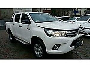 2016 TOYOTA HILUX 2.4 4X2 ADVENTUR ÇALIŞIR YÜRÜR SIFIR AYARINDA Toyota Hilux