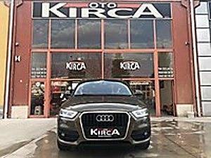KIRCA OTOMOTİV DEN 2012 AUDI Q3 2.0 TDI QUATRO SLİNE BAYİİ Audi Q3 2.0 TDI