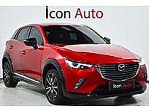 İCON AUTO-ISITMA-HEAD UP-BOSE-ŞERİT TAKİP-ÇİFT RENK TORPİDO Mazda CX-3 1.5 SKY-D  Power Sense