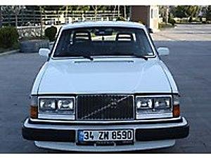1984 VOLVO 240 TURBO DİZEL KOLEKSİYONLUK....    Volvo 240 GLE