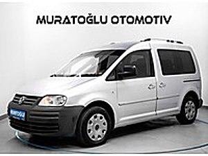 MURATOĞLU   2008 VW CADDY 1.9TDİ DİZEL OTOMATİK SERVİS BAKIM ORJ Volkswagen Caddy 1.9 TDI Kombi