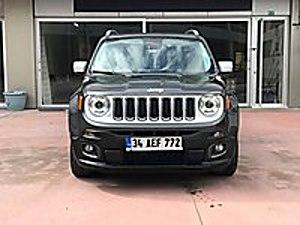 2017 JEEP RENEGADE 1.6 MJET LİMİTED CAMTAVAN ŞERİTTAKİP OTOMATİK Jeep Renegade 1.6 Multijet Limited