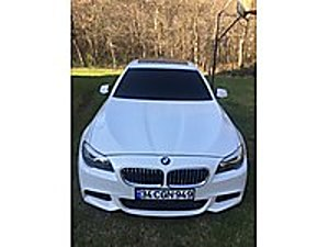 VİPAUTO  FİYAT DÜŞTÜ BORUSAN ÇIKIŞLI 2013 5.20D M-SPORT HATASIZ BMW 5 Serisi 520d M Sport