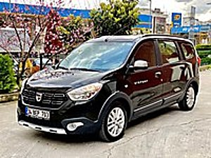 2018 ORJİNAL 22 BN KM OTOMOBİL RUHSATLI 7 KİŞİLİK 110HP STEPWAY Dacia Lodgy 1.5 dCi Stepway