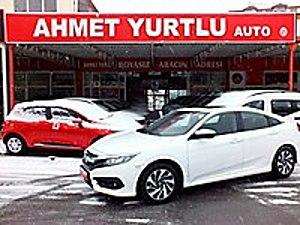 AHMET YURTLU AUTO 2017 CIVIC TÜRKİYEDE TEK SADECE 3.000KM BOYASZ Honda Civic 1.6i VTEC Eco Elegance