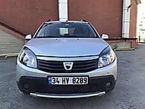 2012 SANDERO STEPWAY İLK ELDEN 90BG LİK 49.000TL Dacia Sandero 1.5 dCi Stepway