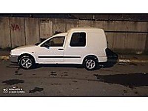 İBRAHİMOGLU A.Ş DEN 1999 CADDY 1.9 DİZEL BAKIMLI Volkswagen Caddy 1.9 SD