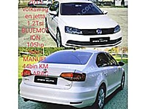 SIFIR 44BIN KM JETTA1.2TSİBLUEMOTION TRENDLİNE 6İLRİ MaNLBoyasız Volkswagen Jetta 1.2 TSI BlueMotion Trendline