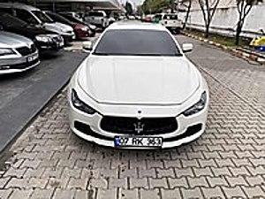 TAHA dan 2014 MASERATİ GHİBLİ 3.0 DİESEL 275 PS EMSALSİZ Maserati Ghibli 3.0