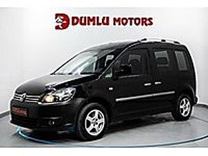 2013 DUMLU MOTORS YENİ KASA 1.6 TDİ CADDY DSG VADE CEK SENET Volkswagen Caddy 1.6 TDI Trendline