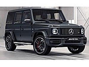 2020 MERCEDES G63 AMG GECE PAKET 585 HP BURMESTER NAVİ   0  KM Mercedes - Benz G Serisi 63 AMG