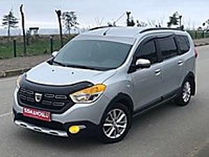 ŞİŞMANOĞLU OTOMOTİV DEN 2018 LOGY 7 KİŞİLİK AKSESUARLI HATASIZ. Dacia Lodgy 1.5 dCi Stepway