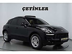ÇETİNLER DEN 2017 MODEL PORSCHE MACAN BAYİ ÇIKIŞLI SİYAH Porsche Macan 2.0